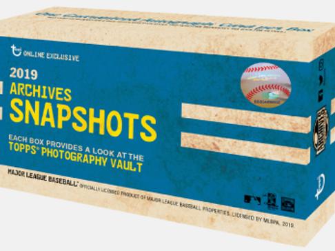 MLB 2019 TOPPS Archives Snapshots box #箱1枚サイン #MLB #ALONSO #GUERREROJR