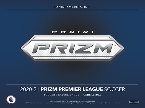 SOCCER 2020-21 PANINI PRIZM EPL Cereal box #Panini #サッカー