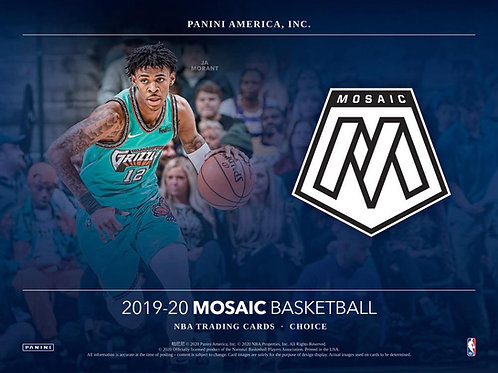 NBA 2019-20 Panini MOSAIC Choice box #NBA #ZIONWILLIAMSON #八村塁 #JaMorant