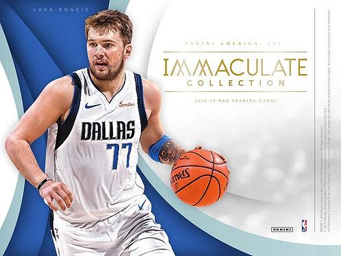 NBA 2018-19 Panini IMMACULATE COLLECTION box #バスケカード #NBA #Doncic #Young