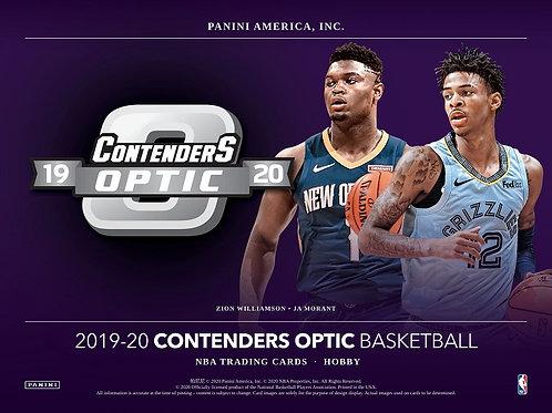 BGB1248 NBA 19-20 PANINI CONTENDERS OPTIC 1case 10-BOX DRAFT #八村塁 #JAMORANT #NBA