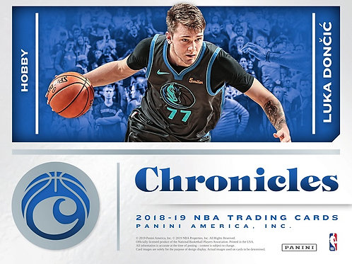 NBA 2018-19 Panini CHRONICLES box #バスケカード #NBA #Doncic #Young #Ayton