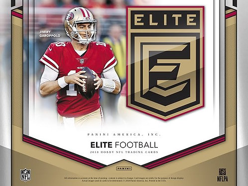 NFL 2018 PANINI ELITE FOOTBALL box