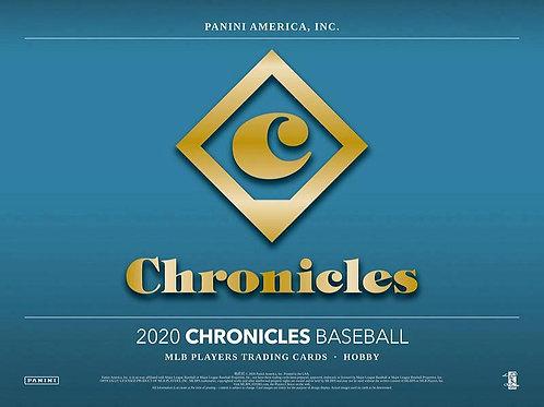 MLB 2020 PANINI CHRONICLE Baseball box #LuisRobert #BoBichette #Panini