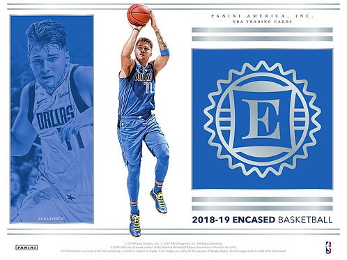 NBA 2018-19 Panini ENCASED box #バスケカード #NBA #Doncic #Young #Ayton
