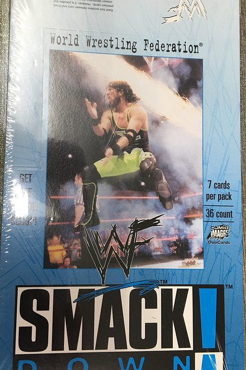 1999 Comic images WWF WWE Smack Down box #プロレス #WWE #WWF #サインカード