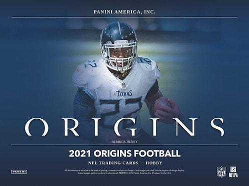 NFL 2021 PANINI ORIGINS Hobby box #Football #アメフト #NFL