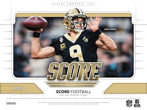 NFL 2019 PANINI SCORE box #サイン4枚 #Football #アメフト #NFL #パニーニ