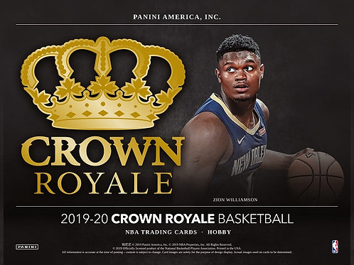 NBA 2019-20 Panini CROWN ROYALE box #NBA #ZION #八村塁 #JaMorant