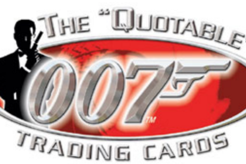 2004 RITTENHOUSE The Quotable James Bond box #007 #JAMESBOND