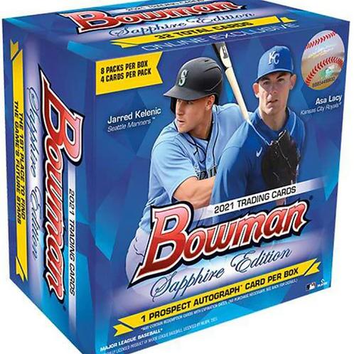 MLB 2021 BOWMAN SAPPHIRE Baseball box #BOWMAN #TOPPS #野球 #メジャーリーグ