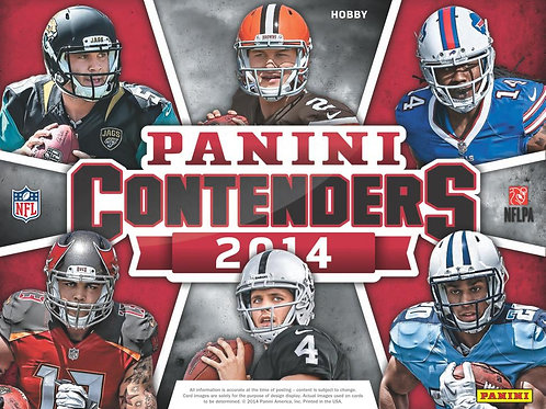 NFL 2014 PANINI CONTENDERS #CARR #GAROPPOLO