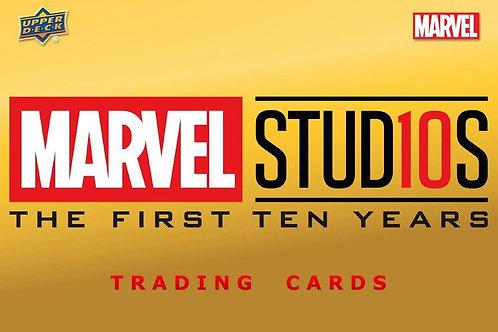 映画 2019 UD Upper Deck CINEMATIC UNIVERSE 10TH ANNIVERSARY box #Marvel #マーベル