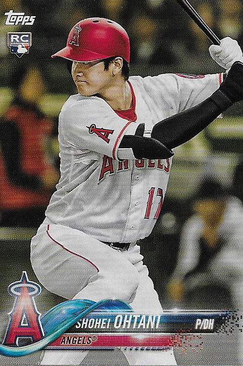 【入荷】大谷翔平 ルーキーカード 1枚 MLB 2018 TOPPS Angels