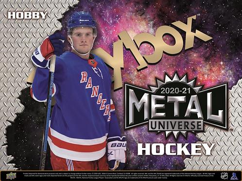 NHL 2020-21 UD UPPER DECK Skybox Metal Universe Hockey Hobby Box #NHL #アイスホッケー
