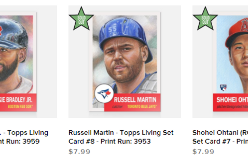 TOPPS LIVING SET Week3 3cards set #mlb #baseball #toppslivingset