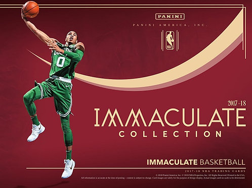 購入値引有 NBA 2017-18 Panini IMMACULATE Basketball 1case