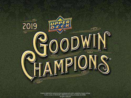 2019 UD GOODWIN CHAMPIONS #Jordan #Doncic #NBA
