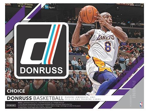 NBA 2019-20 Panini DONRUSS CHOICE box #NBA #ZION #八村塁 #JaMorant