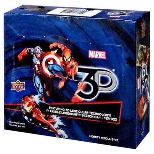 スケッチ系 2017 UD MARVEL 3D Box #SKETCH #MARVEL