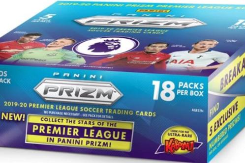 SOCCER 2019-20 PANINI PRIZM English Premier League BREAKAWAY box #PANINI #SOCCER