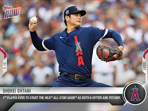 大谷翔平 2021 MLB TOPPS NOW Card 508 1st All Star #大谷翔平 #大谷カード #ShoheiOhtani