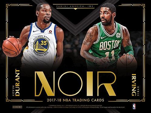 NBA 2017-18 Panini NOIR Basketball box