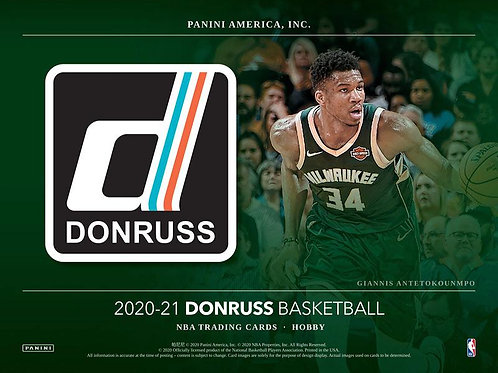 NBA 2020-21 Panini Donruss Hobby box #NBA #LameloBall #Panini