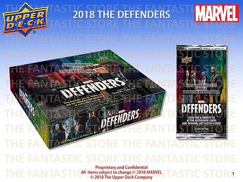 2018 Upper Deck MarvelThe Defenders box #Marvel #Defenders #ディフェンダーズ