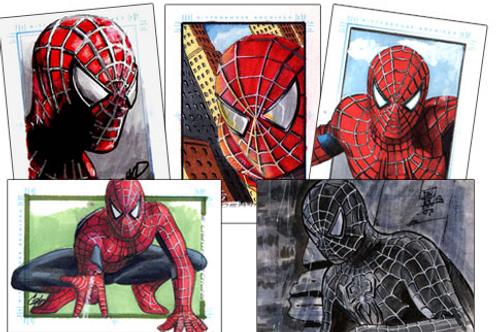 2007 Rittenhouse Archives' Spider-Man 3 Movie box #MARVEL #SPIDERMAN