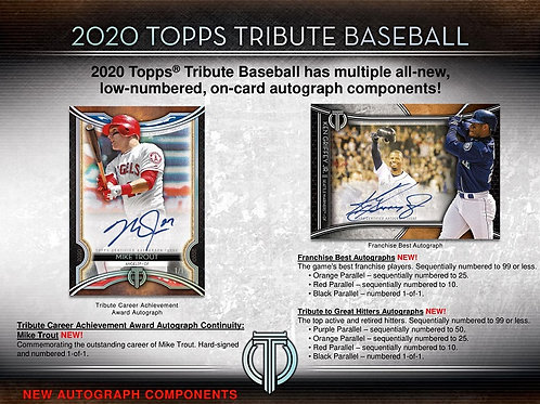MLB 2020 TOPPS TRIBUTE Baseball box #TOPPS #BASEBALL #MLB #BoBichette