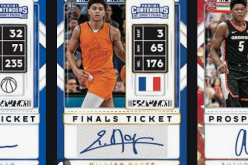 NBA 20-21 Panini CONTENDERS DRAFT box #NBA #PANINI