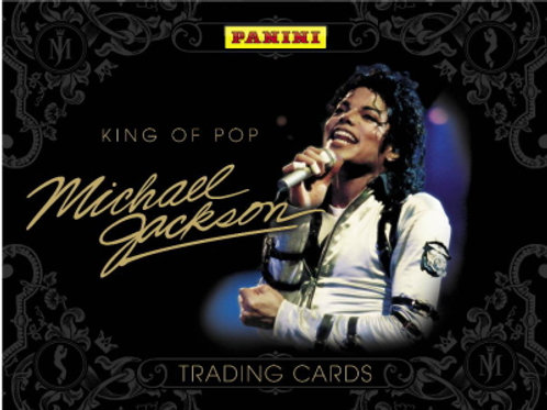 マイケル・ジャクソン トレカ 2版 PANINI Michael Jackson 24p box