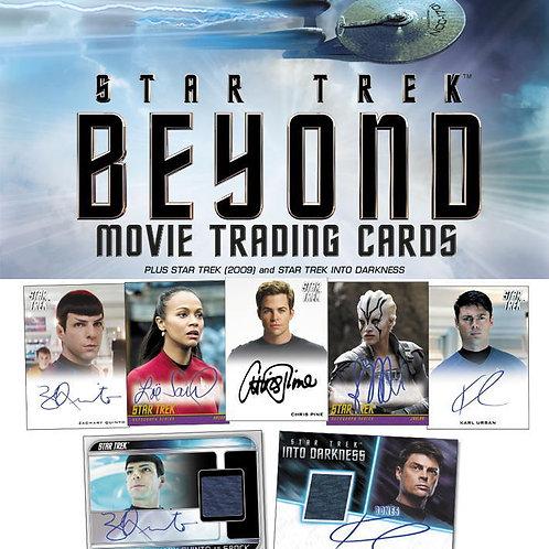 映画トレカ 2017 RITTENHOUSE Star Trek Beyond Movie Box #スタートレック