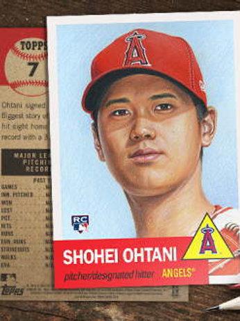 大谷翔平 ルーキーカード MLB 2018 TOPPS LIVING SET