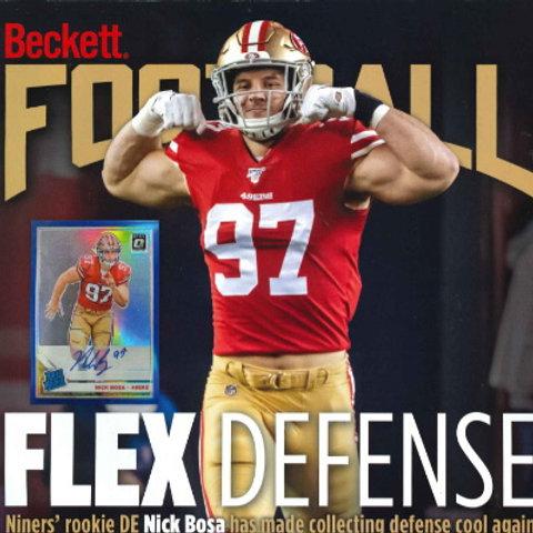 #350 BECKETT PRICE GUIDE FOOTBALL #ベケット誌 #NFL #BECKETT