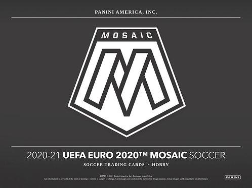 SOCCER 2020-21 PANINI MOSAIC EURO HOBBY box #PANINI #パニーニ #サッカー