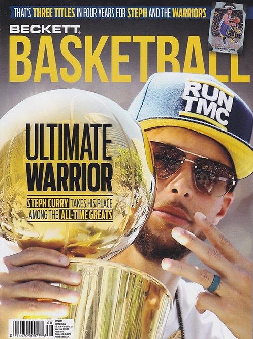 優勝記念カバー BECKETT PRICE GUIDE BASKETBALL #312 #ベケット誌 #NBA