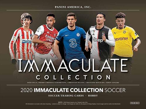 SOCCER 2020 PANINI IMMACULATE CASE 6BOX #PANINI #サッカー