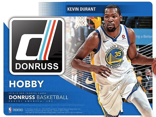NBA 2018-19 Panini DONRUSS Basketball box #バスケカード #NBA