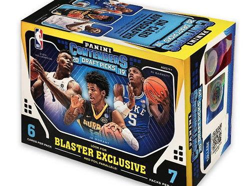 NBA 2019-20 Panini CONTENDERS DRAFT Blaster box #NBA #ZION #八村塁