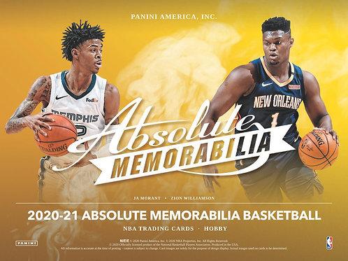 NBA 2020-21 Panini ABSOLUTE box #NBA #LameloBall #Panini #AnthonyEdwards