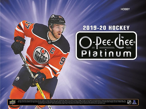 NHL 2019-20 UD Upper Deck PLATINUM box #Hockey #NHL #アイスホッケー