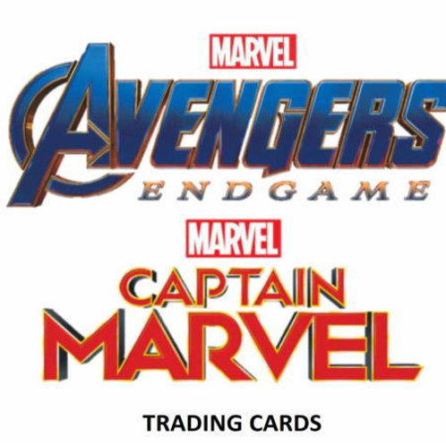 2020 UD Avengers Endgame & Captain Marvel​​​​​​​ box #MARVEL #ENDGAME