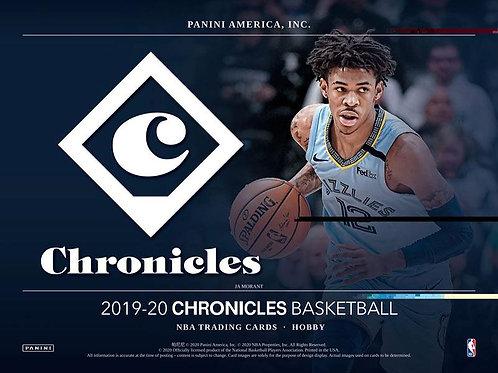 NBA 2019-20 Panini CHRONICLE Hobby box #NBA #ZIONWILLIAMSON #八村塁 #JaMorant