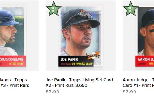 TOPPS LIVING SET Week1 3cards set #mlb #baseball #toppslivingset