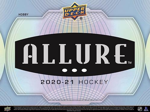 NHL 2020-21 UD UPPER DECK ALLURE Hockey Hobby Box #NHL #アイスホッケー