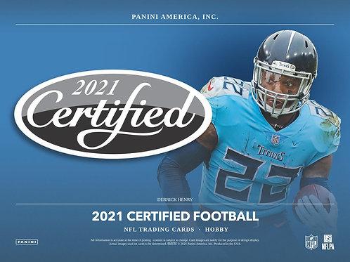 NFL 2021 PANINI CERTIFIED box #Football #アメフト #NFL