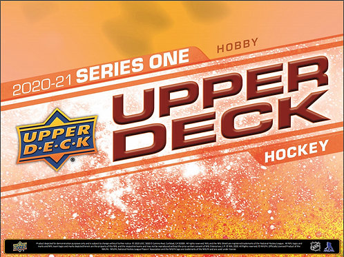 NHL 2020-21 UD Upper Deck Ser.1 HOBBY box #Hockey #NHL #アイスホッケー