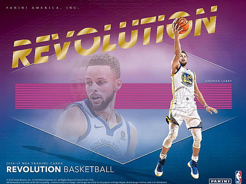 NBA 2018-19 Panini REVOLUTION Basketball box #バスケカード #NBA